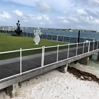 seawall fence for pet safety